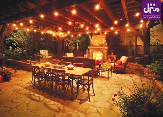 با این 7 راهحل از فضای بیرونی خانهتان لذت ببرید