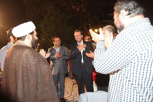 شهاب مرادی در عروسی مختلط مجری شبکه خبر