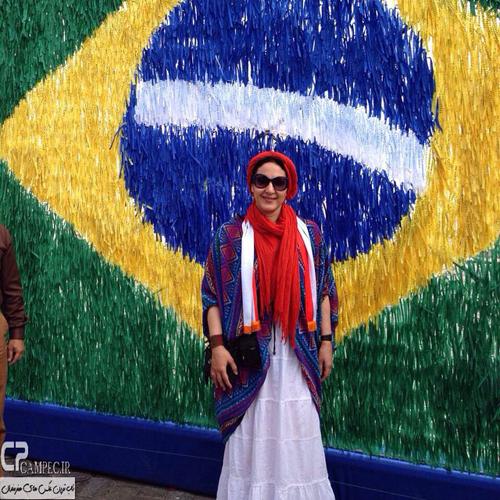 عکس های پخش نشده فاطمه گودرزی در سفر به برزیل