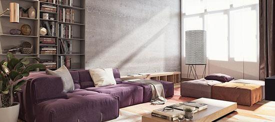 ایده های بسیار مدرن برای اینکه خانه خود را به پنت هاوس مبدل کنید تصاویر