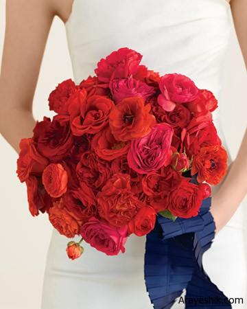 ایده هایی برای انتخاب دسته گل عروس تصاویر