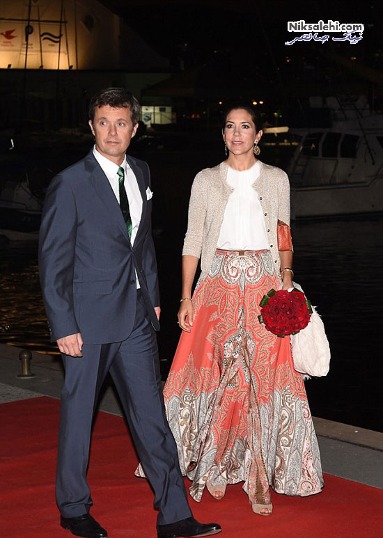 تیپ شاد شاهزاده خانم دانمارکی در سفر به برزیل برای المپیک