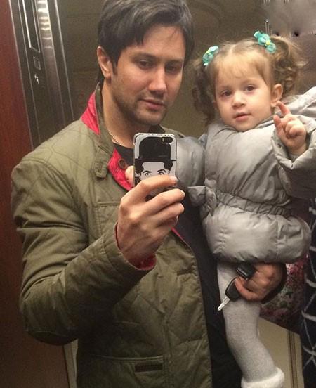 شاهرخ استخری و دخترش پناه خانوم تصاویر