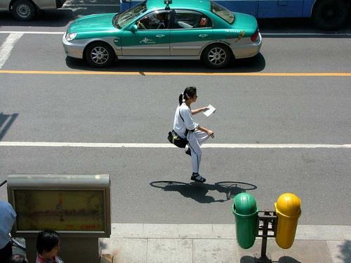 دوچرخه هوایی عجیب و بسیار دیدنی تصویر