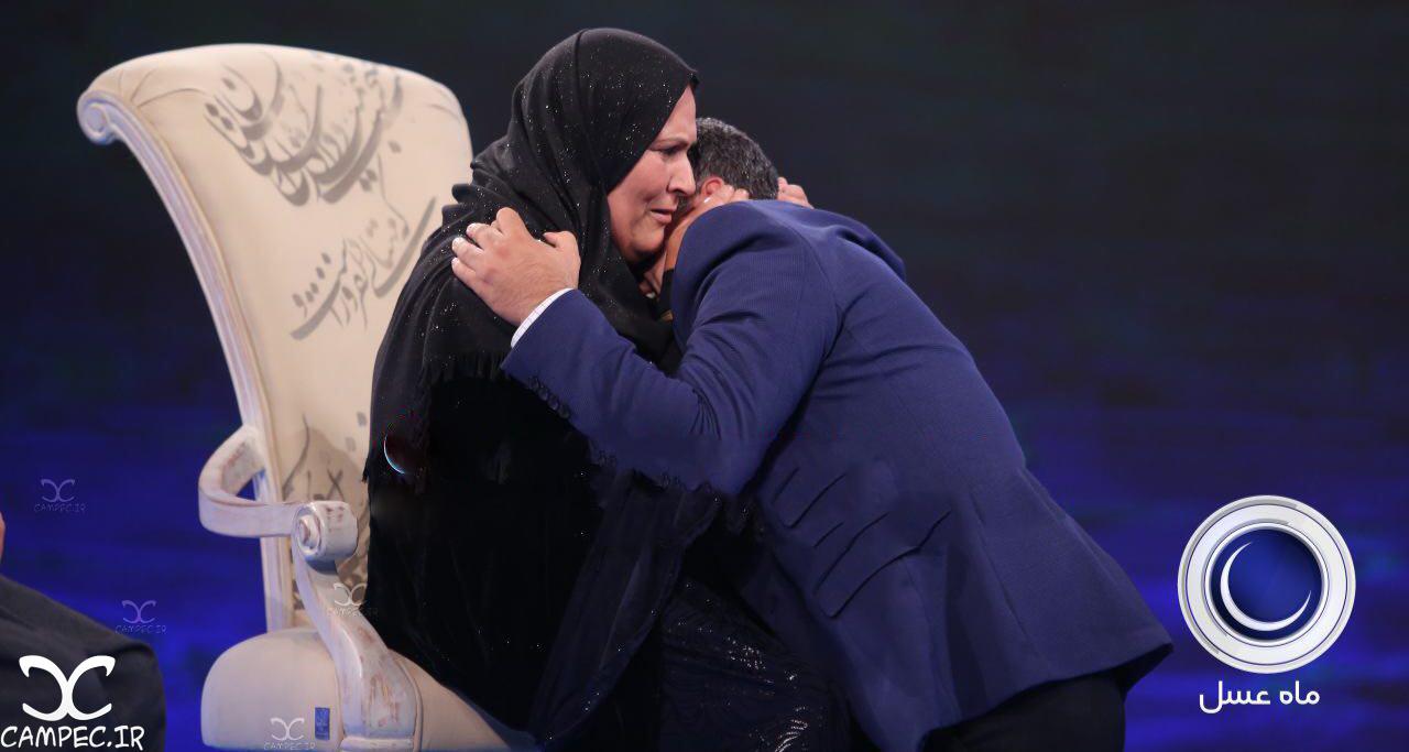 قصه تلخ دیدار مادر و پسر بعد از 36 سال در برنامه ماه عسل