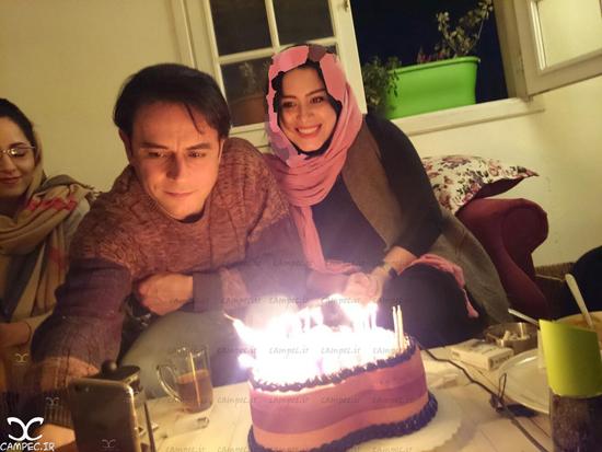 عکس های متفاوت رحیم نوروزی و همسر و دخترش پناه