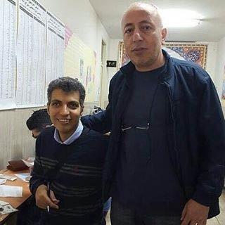 عادل فردوسی پور مجری برنامه نود پای صندوق رای عکس