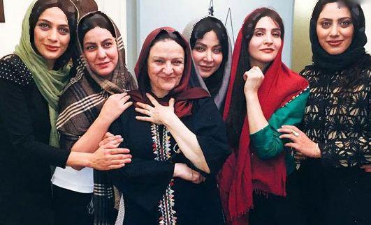 مونا فرجاد و مارال فرجاد، خواهران بازیگر ایرانی تصاویر