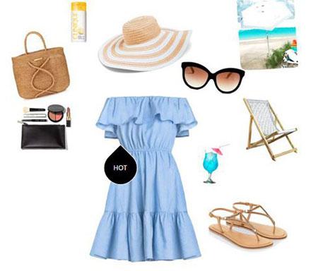 ست های زیبای زنانه به رنگ آبی سال مناسب تابستان