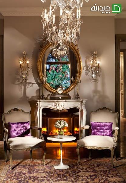 ایده های کلاسیک را در دکوراسیون زیبای خانه ویشکا آسایش ببینید تصاویر