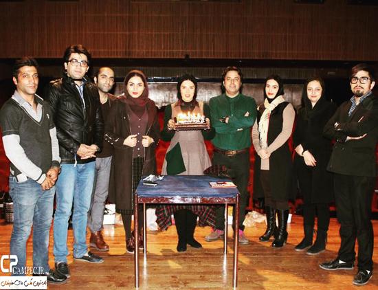 جشن تولد لیلا بلوکات با حضور فرزاد حسنی