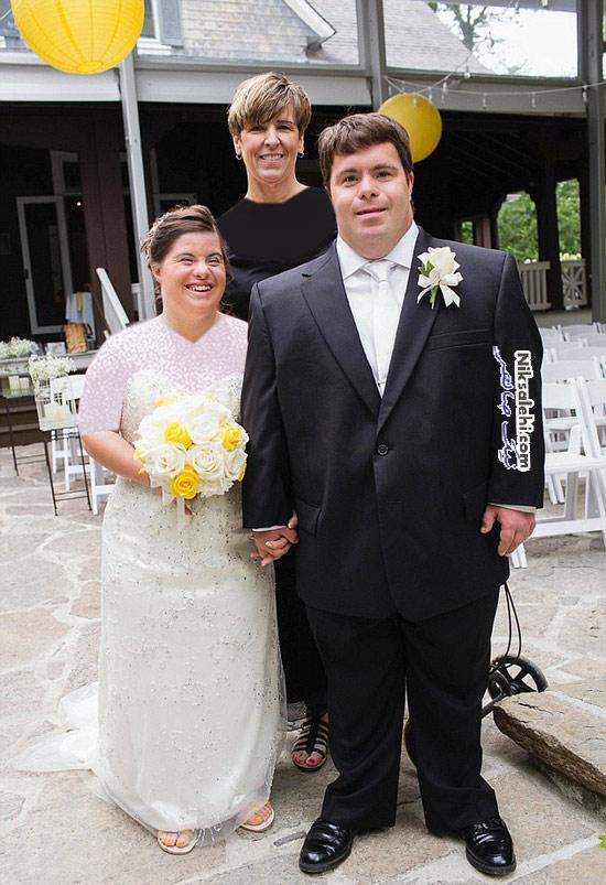 ازدواج دختر و پسر دچار ناتوانی ذهنی با یکدیگر