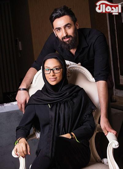 گفتگو با پوریا فیاضی و همسرش مهتا محمدی دو والیبالیست ملی و باشگاهی کشورمان تصاویر