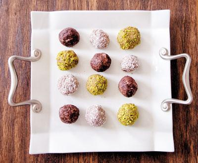 ترافل شکلاتی , دسری ساده و جذاب! عکس