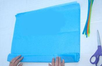 آموزش ساخت آویز بسیار زیبا و ساده با کاغذکشی