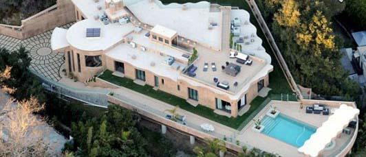 شیک ترین و گران ترین خانه ستاره های هالیوودی تصاویر