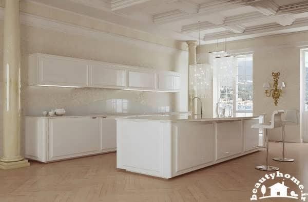 دکوراسیون آشپزخانه مینیمال جدید و مدرن  تصاویر