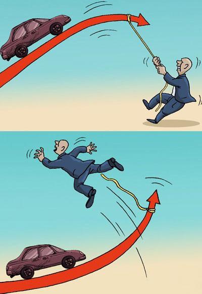 کاریکاتور گرانی خودرو