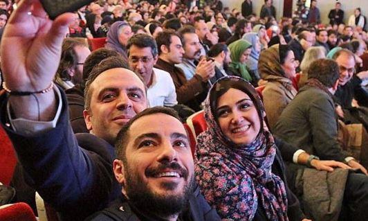 باران کوثری در جشنواره فجر سی و چهارم تصاویر