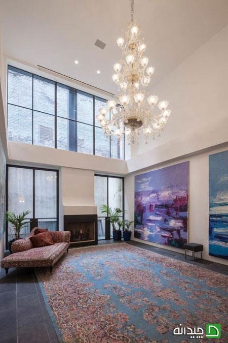 دکوراسیون آپارتمان تیلورسویفت در نیویورک با فرش های ایرانی!
