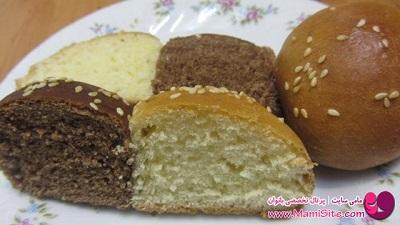 نان مرمری شکلاتی بسیار آسان و اشتها برانگیز! عکس