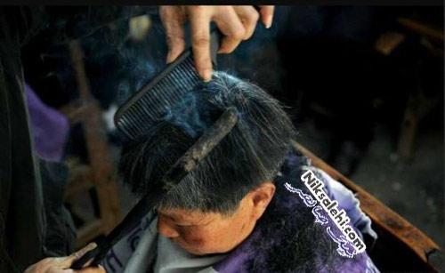 روش عجیب و باستانی چین برای کوتاه کردن موها