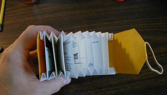 آموزش ساختن کیف پولی بسیار زیبا با کاغذ