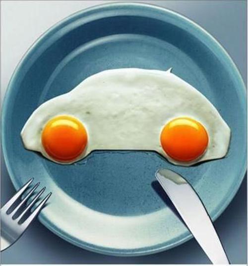 تخم مرغ های خوشگلسازی شده