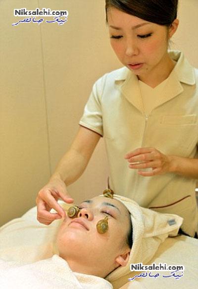 روش زیبایی عجیبی در یکی از آرایشگاه های ژاپن