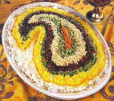 جواهر پلو یک غذای شیک مجلسی! عکس