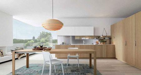 ایده هایی بسیار کاربردی برای اینکه آشپزخانه ی شما به خودی خود، نمایی پاک و تمیز داشته باشد