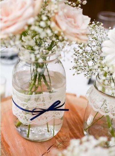 گل آرایی در جشن عروسی