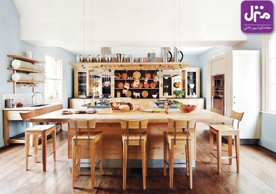 آشپزخانهای به سبک چوبیسم!