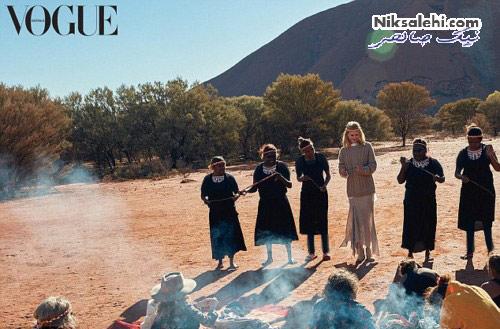 عکس های جدید نیکول کیدمن برای مجله استرالیایی