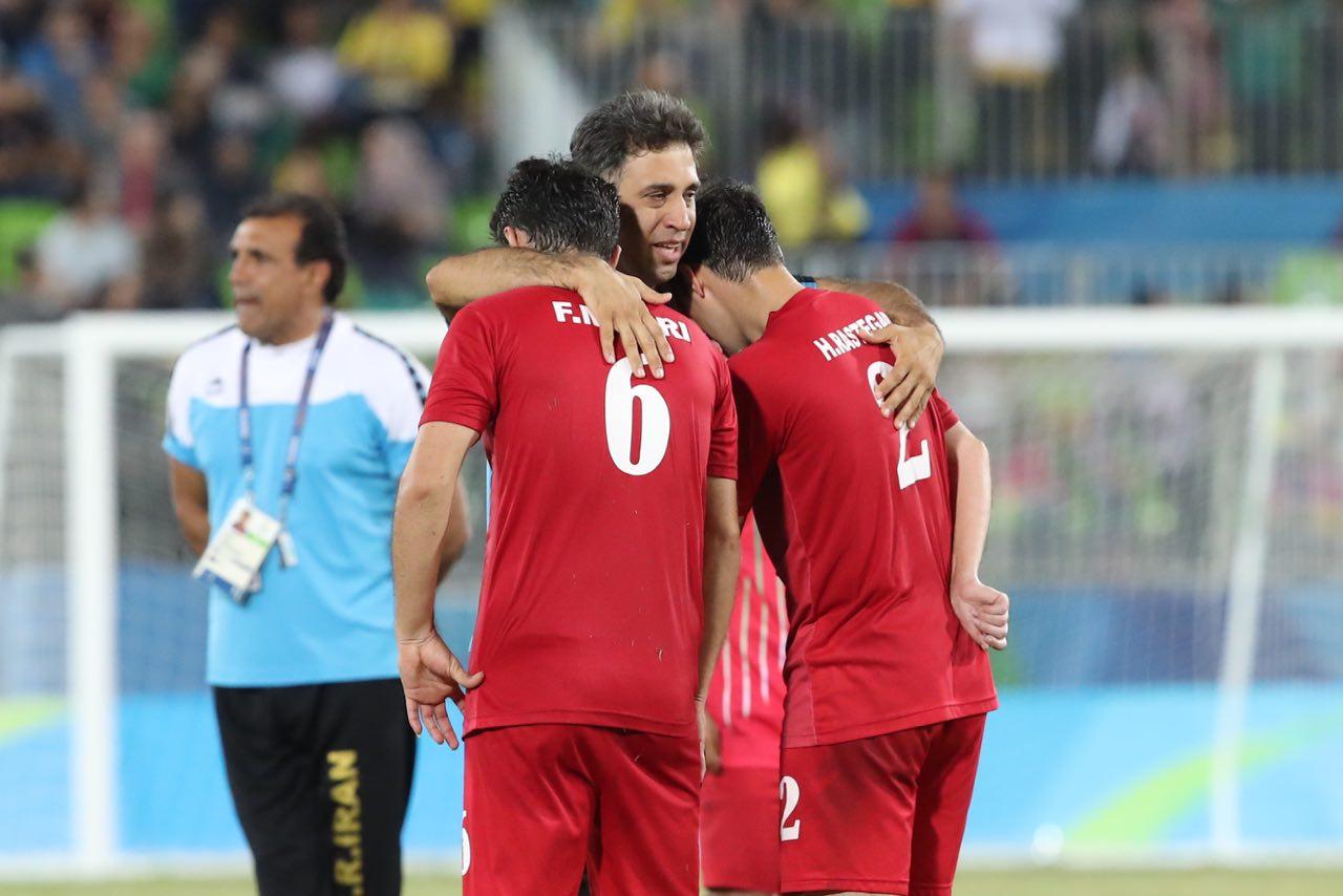 تیم فوتبال هفت نفره ایران نایب قهرمان پارالمپیک شد