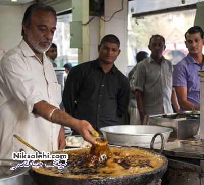 توانایی خارق العاده یک آشپز هندی