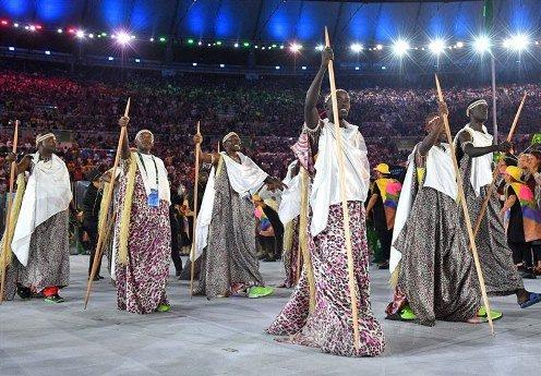 لباس بروندی در المپیک ریو 2016