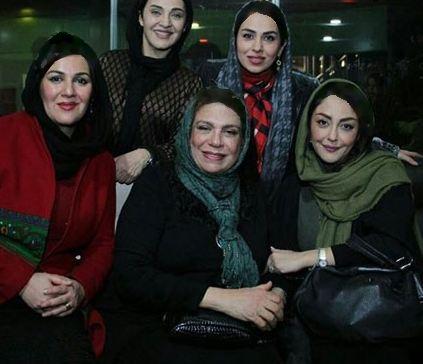 عکسهای جدید گوهر خیراندیش به همراه دخترش و بازیگران زن تصاویر