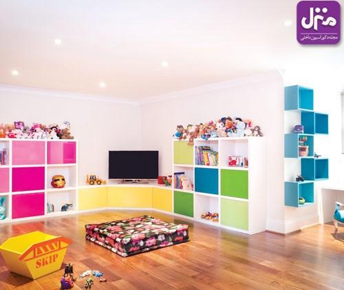 دنیای اسباب بازی ها در اتاق کودک