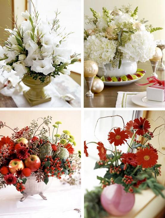 تزئین میز عید کریسمس تصاویر