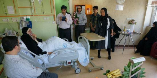 آخرین خبر از وضعیت جسمی الهام چرخنده در بیمارستان