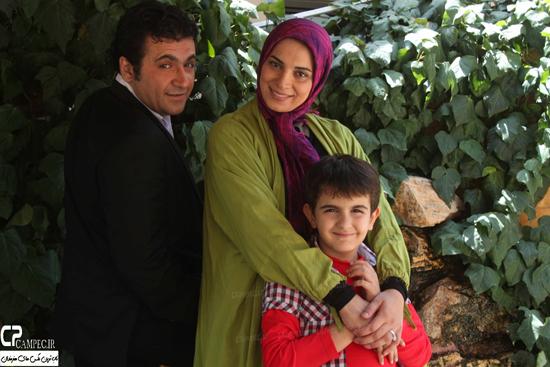 عکس های جدید روشنک عجمیان و همسرش