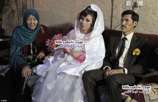 ازدواج زوج معتاد افغانی به کمک خیر ایرانی