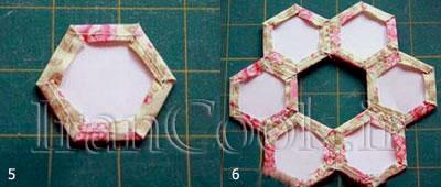 ساخت کاردستی زیر لیوانی پارچه ای  تصاویر