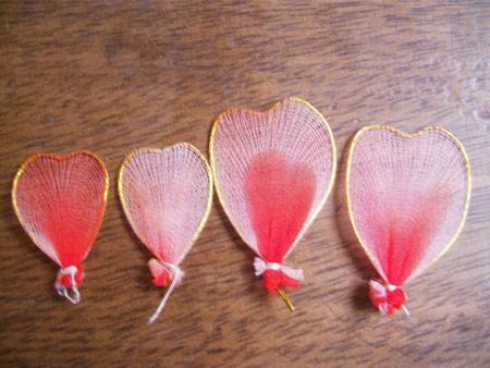 ساخت پروانه های جورابی  تصاویر