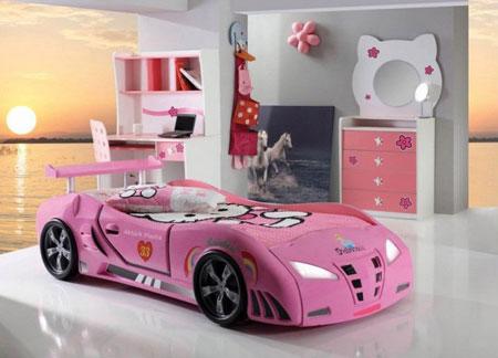 زیباترین دکوراسیون تخت خواب کودکان  تصاویر
