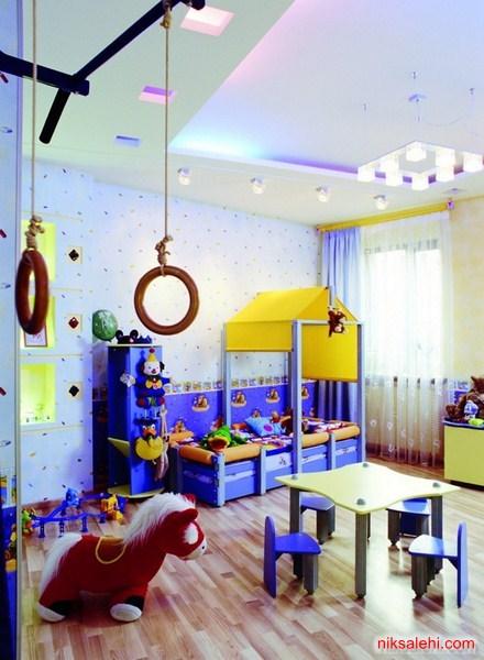 مدل دکوراسیون اتاق خواب کودک جدید 2015  تصاویر