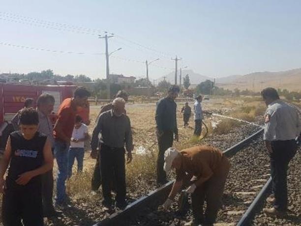 مرگ دلخراش زن ۵۰ ساله زیر چرخهای قطار در اراک