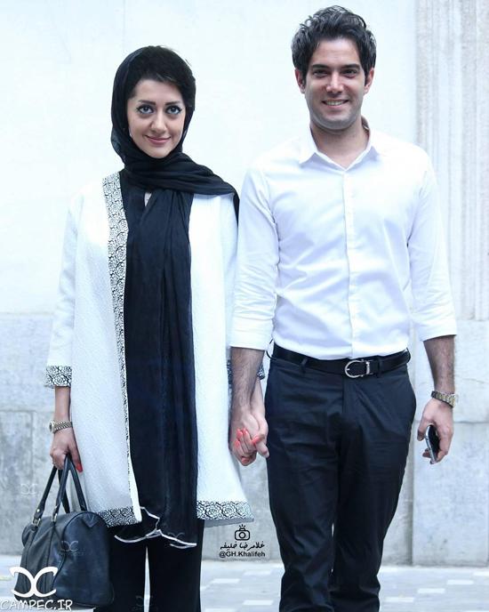 عکس های جدید و متفاوت امیر علی نبویان و همسرش بهار نوروزپور