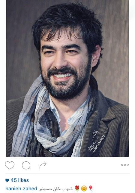 تعجب و خنده ی شهاب حسینی بازیگر توانای کشورمان تصاویر